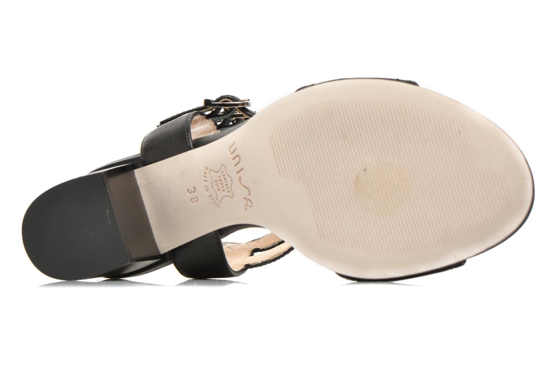 Sandales et nu-pieds Unisa Osen Noir vue haut