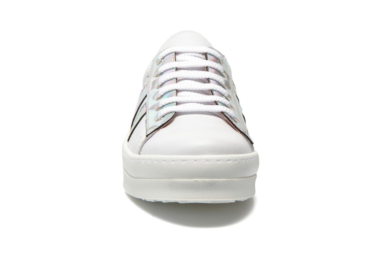 Baskets Unisa Calixto Blanc vue portées chaussures