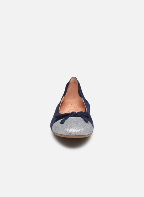 Ballerinas Unisa Dino blau schuhe getragen