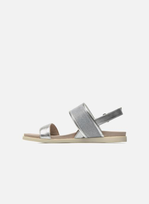 Sandals Unisa Paves Silver front view