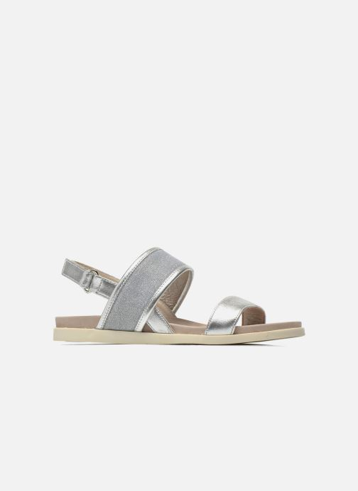Sandals Unisa Paves Silver back view