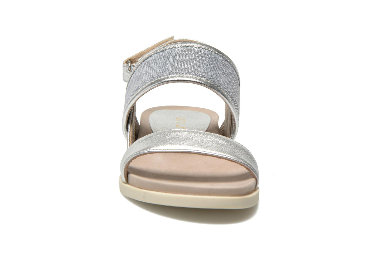Sandales et nu-pieds Unisa Paves Argent vue portées chaussures