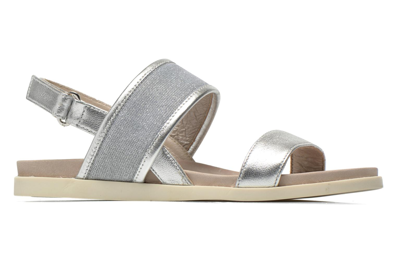 Sandales et nu-pieds Unisa Paves Argent vue derrière
