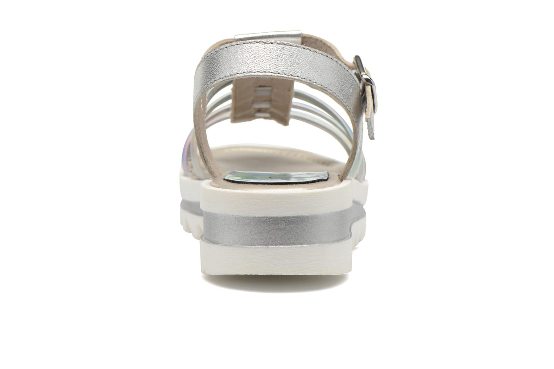 Sandali e scarpe aperte Unisa Tresor Argento immagine destra