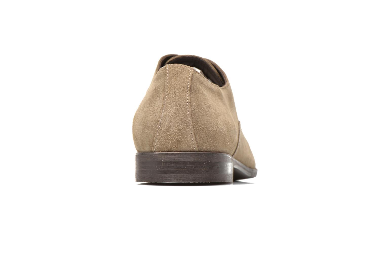 Chaussures à lacets Marvin&Co Nicolieu Beige vue droite