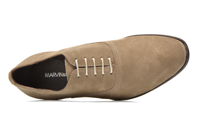 Chaussures à lacets Marvin&Co Nicolieu Beige vue gauche