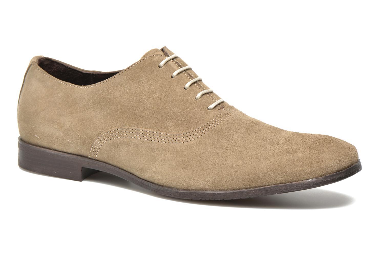 Chaussures à lacets Marvin&Co Nicolieu Beige vue détail/paire