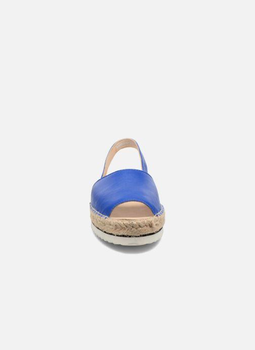 Sandales et nu-pieds Anaki Tequila Bleu vue portées chaussures