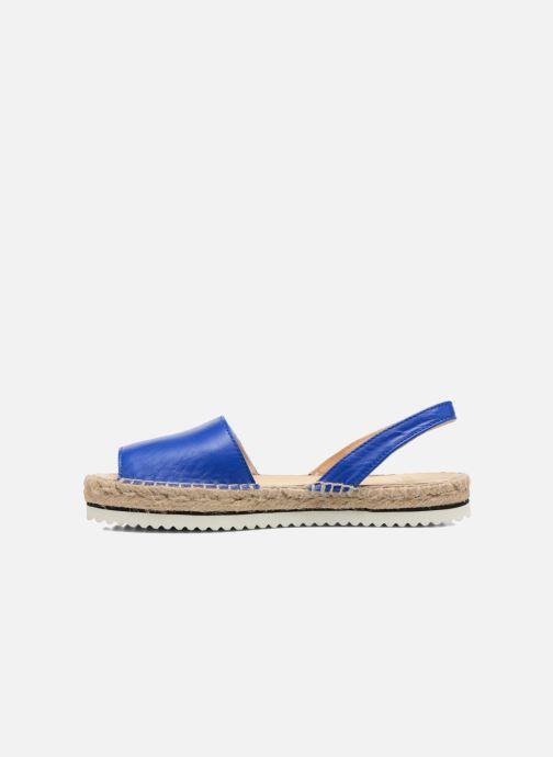 Sandales et nu-pieds Anaki Tequila Bleu vue face