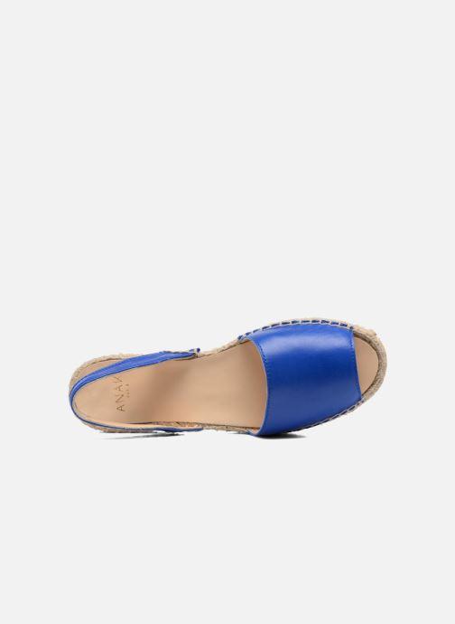 Sandales et nu-pieds Anaki Tequila Bleu vue gauche