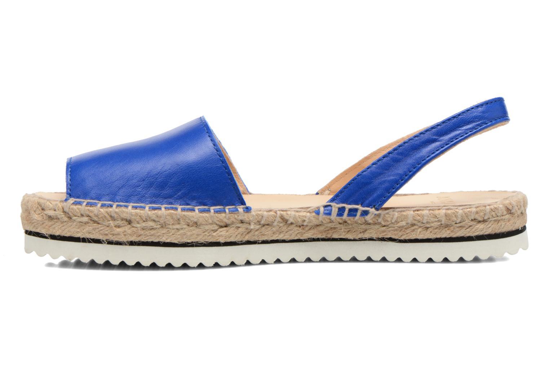 Sandalen Anaki Tequila blau ansicht von vorne