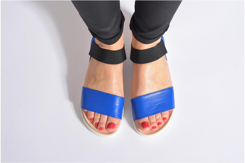 Sandales et nu-pieds Anaki Miami Bleu vue bas / vue portée sac