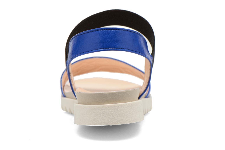 Sandales et nu-pieds Anaki Miami Bleu vue droite