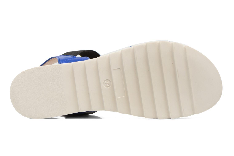 Sandales et nu-pieds Anaki Miami Bleu vue haut