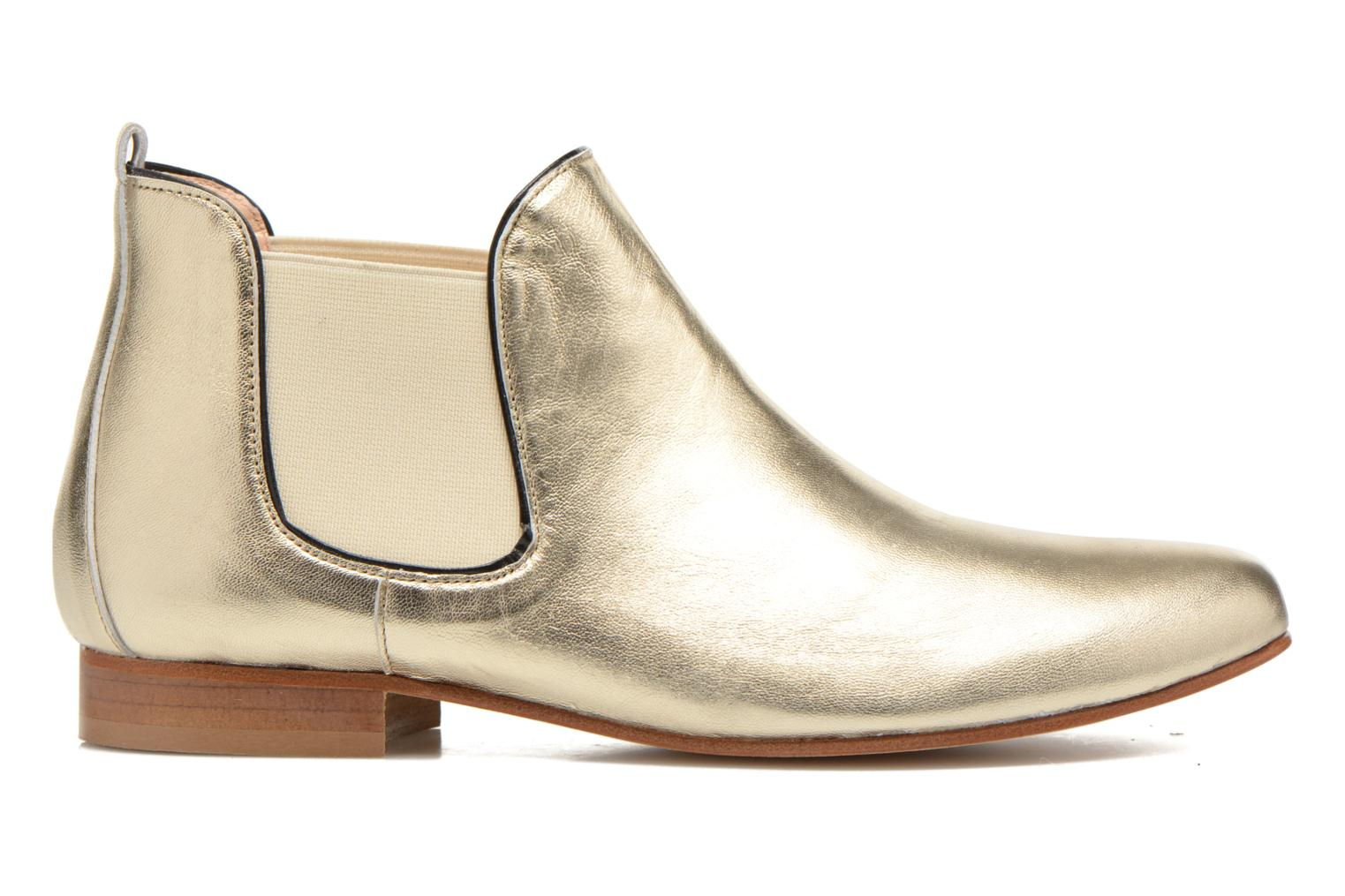 Ankle boots Anaki Lagun Bronze and Gold back view