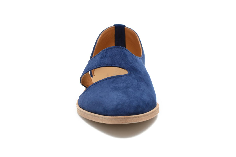 Ballerines Anaki Coast Bleu vue portées chaussures