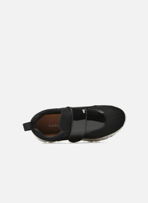 Sneakers Carven Running Nero immagine sinistra