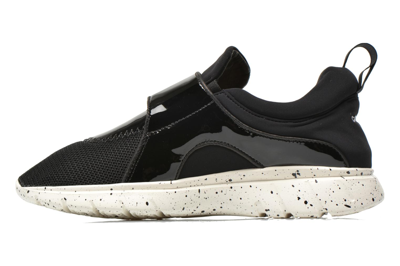 Baskets Carven Running Noir vue face