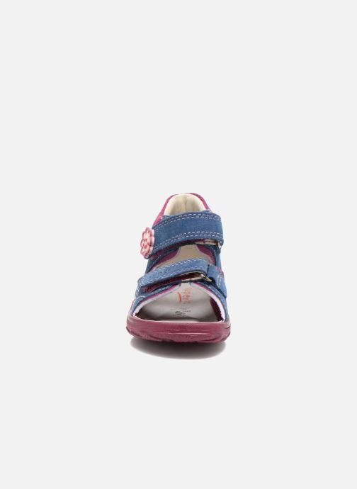 Sandali e scarpe aperte Superfit Flow Azzurro modello indossato