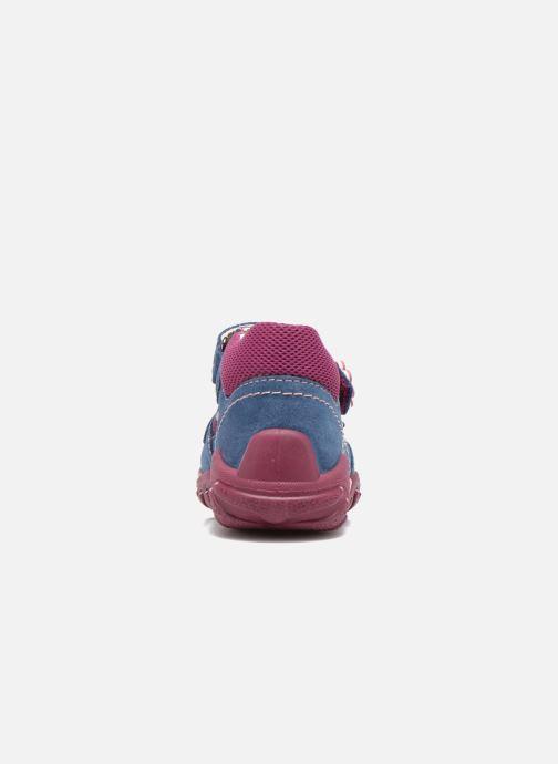 Sandales et nu-pieds Superfit Flow Bleu vue droite