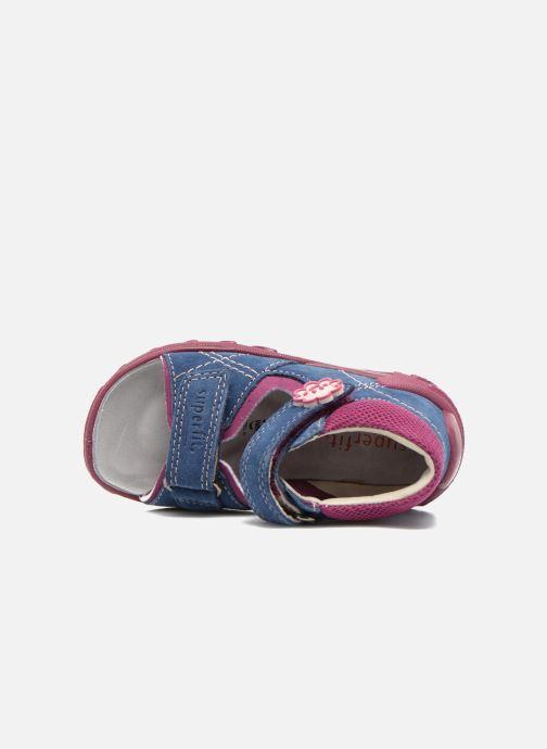 Sandali e scarpe aperte Superfit Flow Azzurro immagine sinistra