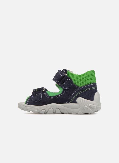 Sandals Superfit Flow Blue front view