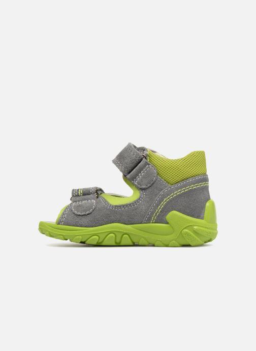 Sandales et nu-pieds Superfit Flow Gris vue face