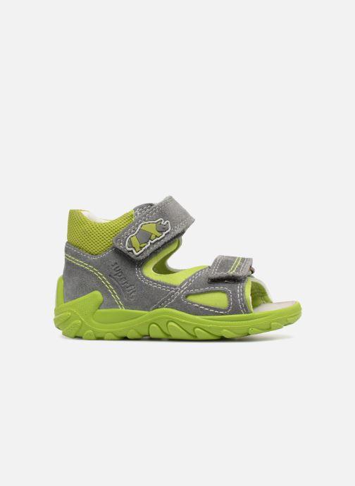 Sandales et nu-pieds Superfit Flow Gris vue derrière