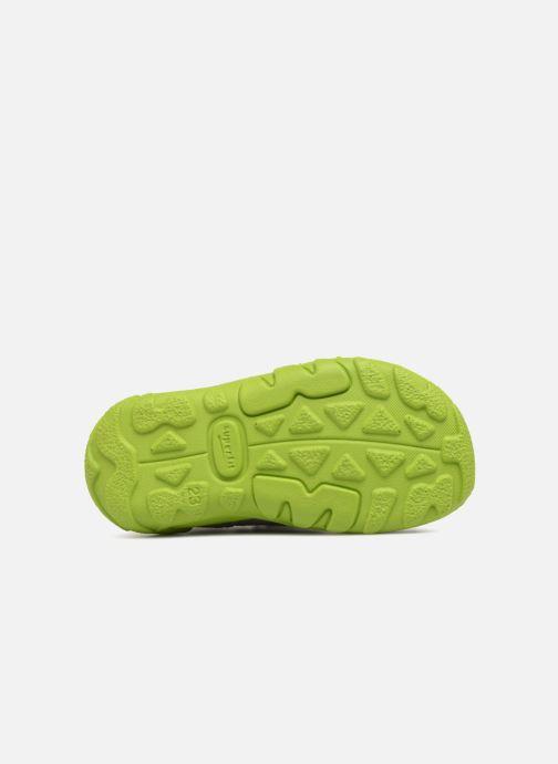 Sandales et nu-pieds Superfit Flow Gris vue haut