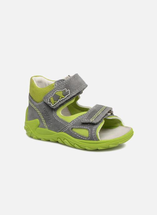 Sandales et nu-pieds Superfit Flow Gris vue détail/paire