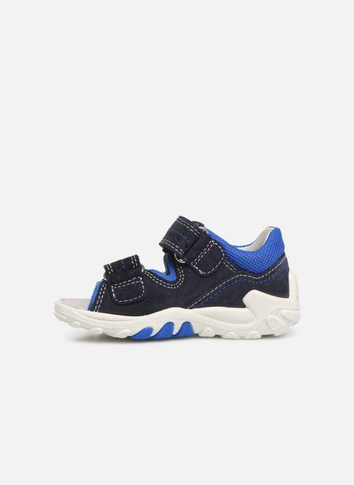 Sandales et nu-pieds Superfit Flow Bleu vue face