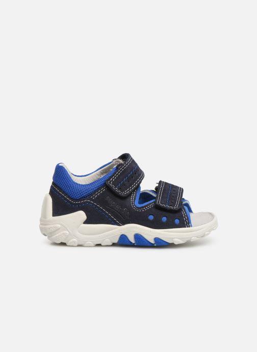 Sandales et nu-pieds Superfit Flow Bleu vue derrière