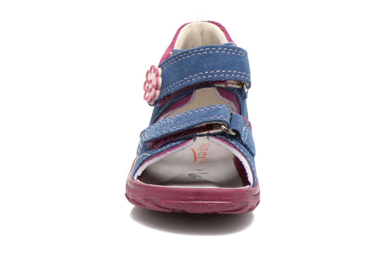 Sandales et nu-pieds Superfit Flow Bleu vue portées chaussures