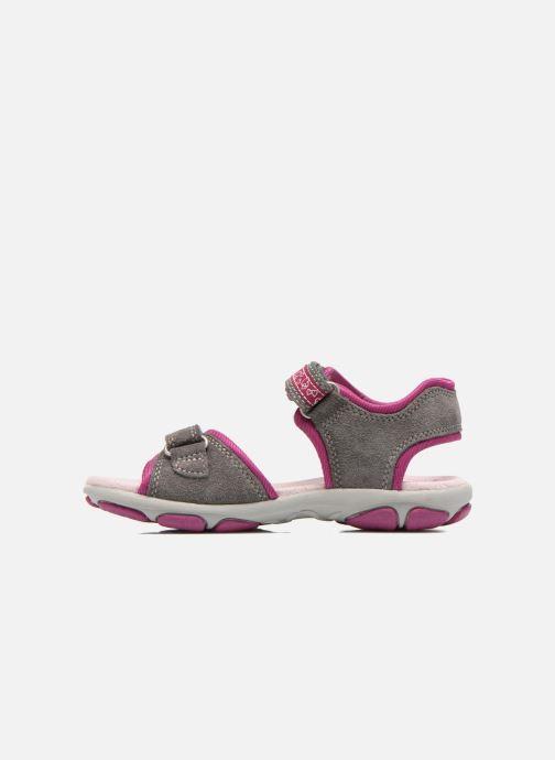 Sandales et nu-pieds Superfit Nelly Gris vue face