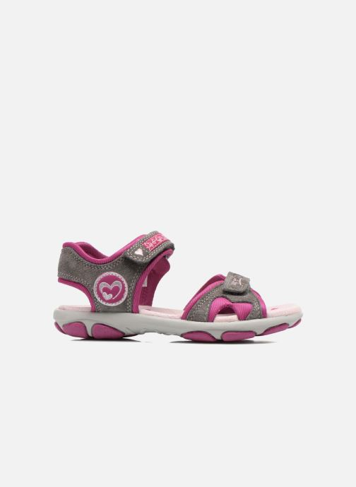Sandales et nu-pieds Superfit Nelly Gris vue derrière