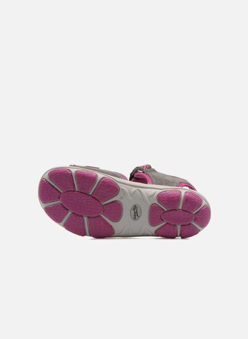 Sandales et nu-pieds Superfit Nelly Gris vue haut