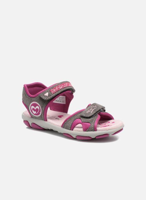 Sandales et nu-pieds Superfit Nelly Gris vue détail/paire
