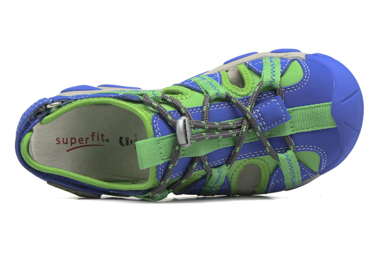 Sandales et nu-pieds Superfit Octopuss Vert vue gauche