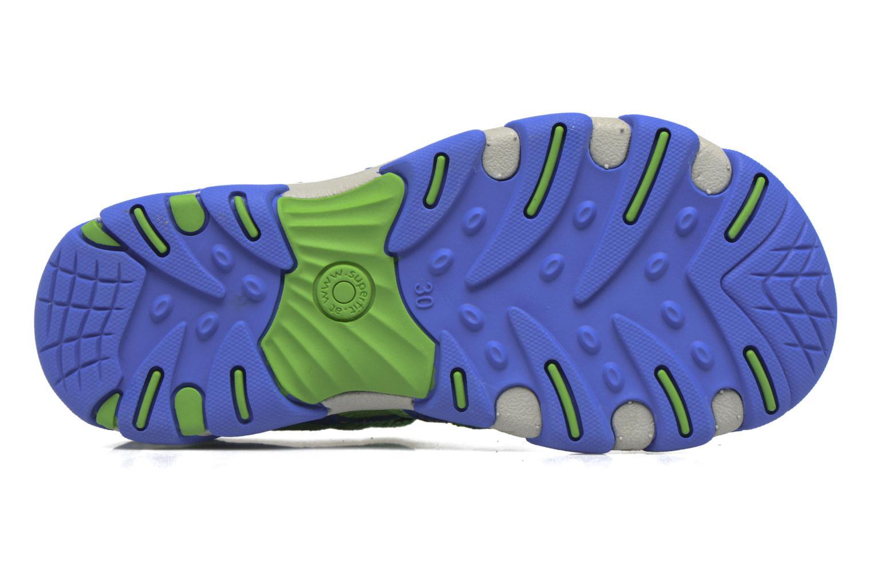 Sandales et nu-pieds Superfit Octopuss Vert vue haut
