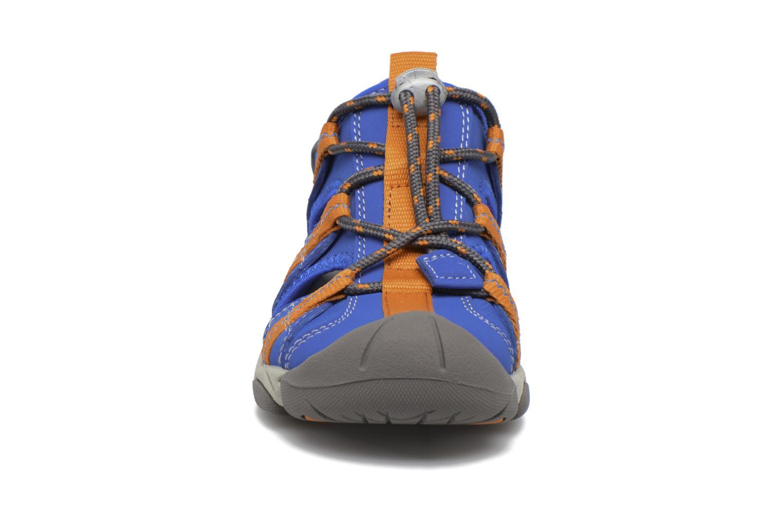Sandales et nu-pieds Superfit Octopuss Bleu vue portées chaussures