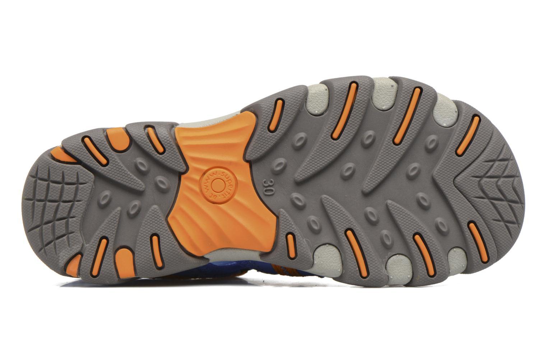 Sandales et nu-pieds Superfit Octopuss Bleu vue haut