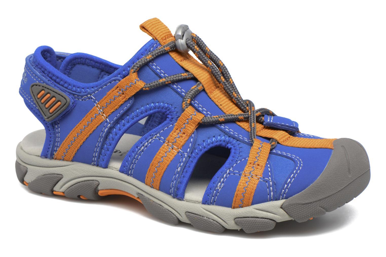 Sandales et nu-pieds Superfit Octopuss Bleu vue détail/paire