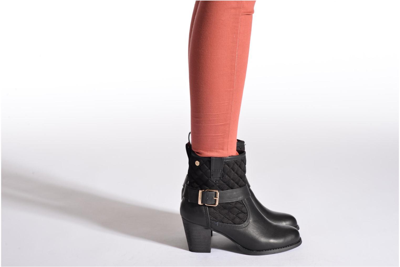 Bottines et boots Xti Piha Noir vue bas / vue portée sac