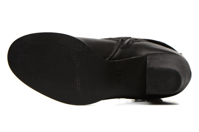 Bottines et boots Xti Piha Noir vue haut