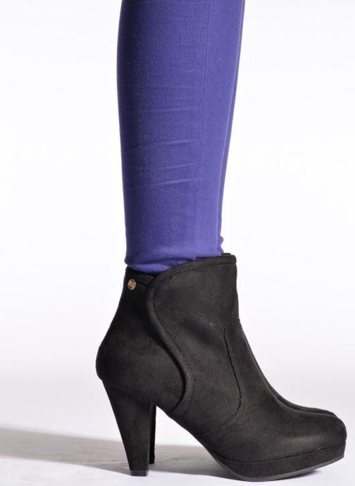 Bottines et boots Xti Sumba Noir vue bas / vue portée sac