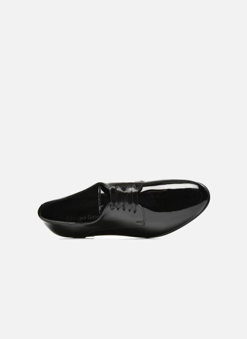 Chaussures à lacets Georgia Rose Alilikou Noir vue gauche