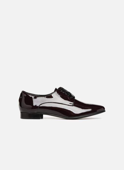 Chaussures à lacets Georgia Rose Alilikou Bordeaux vue derrière