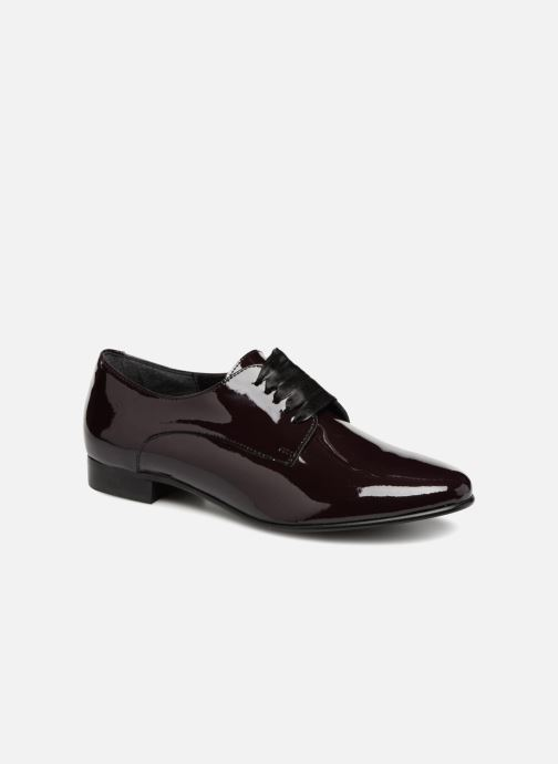 Zapatos con cordones Georgia Rose Alilikou Vino vista de detalle / par