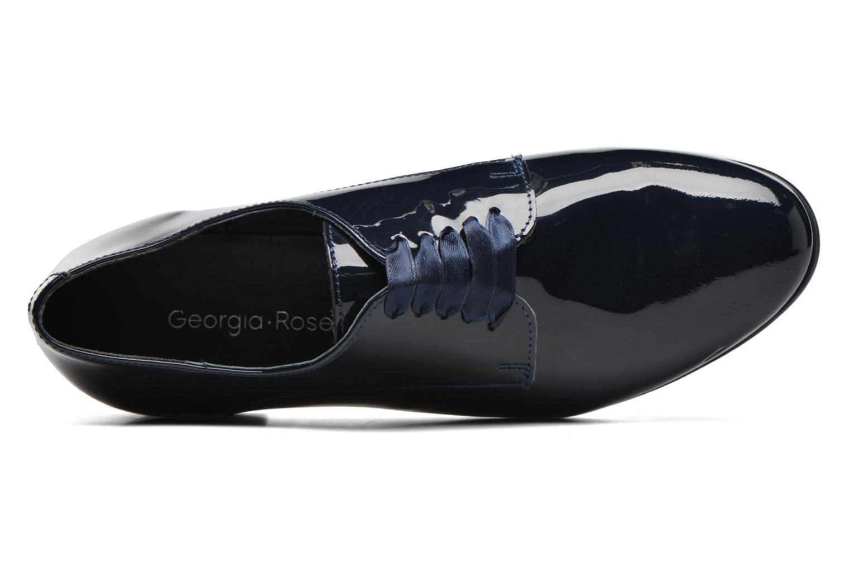 Chaussures à lacets Georgia Rose Alilikou Bleu vue gauche