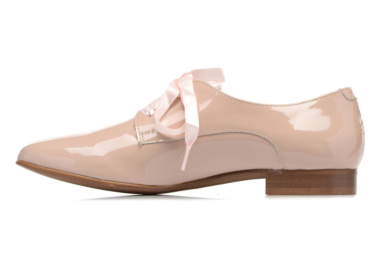 Chaussures à lacets Georgia Rose Alilikou Rose vue face